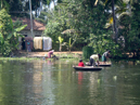 Fising on the backwaters