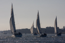 Yacht racing on the Orwell